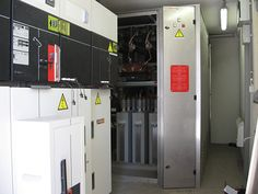 Capacitor banks panel