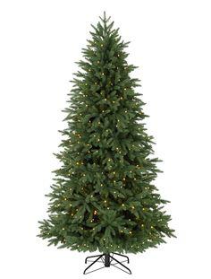 Silverado Slim Christmas Trees, Silverado Slim LED Pre Lit Christmas Trees | Balsam Hill AU