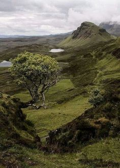 In the vast landscape of the Isle of Skye, Scotland.