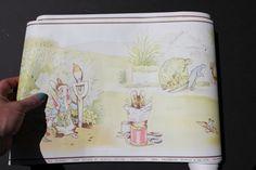 Peter Rabbit and Friends Beatrix Potter  Wallpaper Border $7.60 CDN