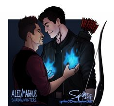 From spider999now ...   shadowhunters, alexander 'alec' lightwood, magnus bane, the mortal instruments, malec