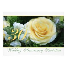 30th Wedding Anniversary Invitation - Yellow Rose Yes I can say you are on right site we just collected best shopping store that haveHow to          30th Wedding Anniversary Invitation - Yellow Rose Online Secure Check out Quick and Easy...
