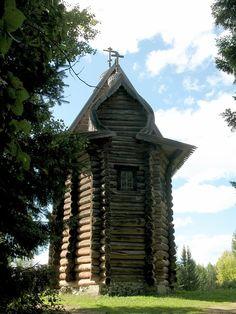 Богородицкая церковь из с. Тохтарево Суксунского района. 1694 г.
