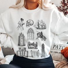 School Outfits, Back to School, fall 2021 fashion trends, Outfit, Fall Outfit, basic outfits, winter outfits 2021, witchy aesthetic, witchy tattoos, witch tattoo, witchy school outfit, witchcraft for beginners, halloween shirt, halloween party, halloween costumes, fall outfits 2021, fall fashion, aesthetic outfits, trendy outfits, dark academia outfit, light academia outfit, history shirt, history teacher sweatshirt, history teacher outfit