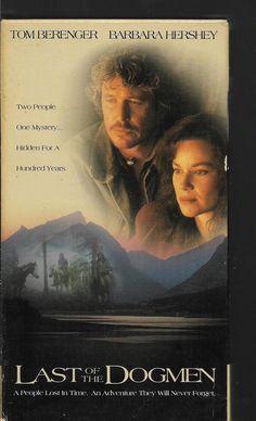 Last Of The Dogmen Tom Berenger Barbara Hershey VHS