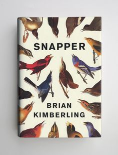'Snapper' by Brian Kimberling cover designed by Jason Booher Ex Libris, Best Book Covers, Beautiful Book Covers, Graphic Design Magazine, Design Editorial, Buch Design, This Is A Book, Branding, Cool Books