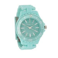 Women's light turquoise sports watch - Strap - Watches
