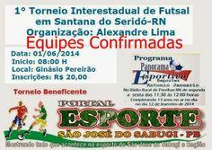 Portal Esporte São José do Sabugi: Veja a relação de equipes confirmadas no Torneio B...