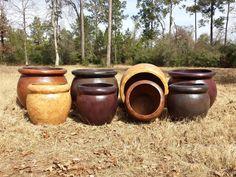 Lightweight Pottery Medium 26 lbs. Small 17 lbs.   Custom Colors Available