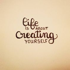Life is about creating yourself  #letteringwithpositivity   #practice #lettering #letteringpractice #handlettering #handletteringpractice http://ift.tt/2j1rLph Life is about creating yourself letteringwithpositivity  practice lettering letteringpractice