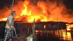Tahun lalu 1.967 rumah habis dilalap api.
