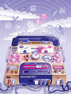 UKIP Media - Technology by Lee Hasler, via Behance Type Illustration, Bang Bang, Vector Graphics, Illustrations Posters, Line Art, Illustrators, Vectors, Graffiti, Digital Art