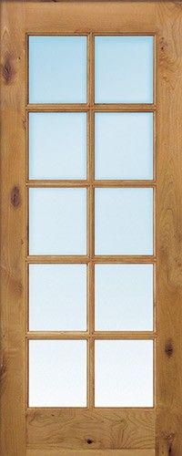 18 Inch Wide 5 Lite Pine Interior Wood Door Slab Great