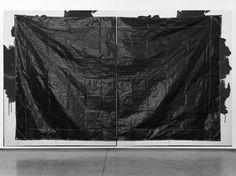 Gardar Eide Einarsson, Black Poly Pickup & Dump Truck Tarp, 2014