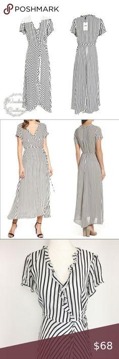 HART STREET Stretch Black Short Sleeve Velour Dress w//Shirring  PRICE $.99  NWT