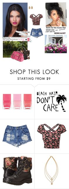 """""""♥I Surrender♥"""" by smil-ly ❤ liked on Polyvore featuring Nails Inc., Dr. Martens, xO Design, Again, Nicole Miller, Tory Burch, women's clothing, women, female and woman"""