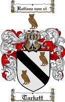 INSTANTLY DOWNLOAD the Tackett Family Crest / Tackett Coat of Arms High Quality 300 dpi DOWNLOAD