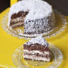 Leipojat.fi / Kookos-suklaakakku