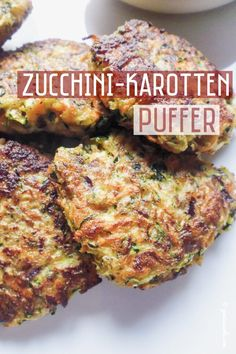 Zucchini and Carrot Buffer Salad Recipes Healthy Lunch, Salad Recipes For Dinner, Chicken Salad Recipes, Easy Healthy Recipes, Salads For A Crowd, Food For A Crowd, Easy Salads, Lunch Saludable, Zucchini Puffer
