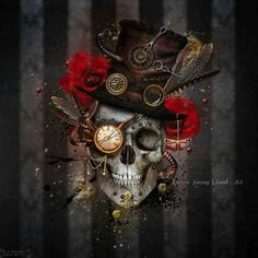 Skull Art by Raven Young Blood Art ☠️