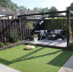 Garden Design For Kids .Garden Design For Kids Backyard Seating, Backyard Patio Designs, Small Backyard Landscaping, Back Garden Design, Casa Patio, Backyard Garden Landscape, Big Garden, Sloped Garden, Interior Garden