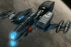 Andorian Kumari class warship - Star Trek: Enterprise (US TV, 2001-05)