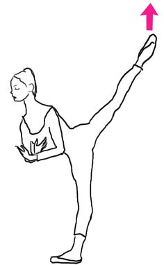 Penchée : So you're in the center and your adagio includes an arabesque penchée. But do not fear… Try imagining the working leg reaching up toward the sky instead of worrying about the ground becoming closer. Yay for penchée! Ballet Steps, Ballet Moves, Ballet Dance, Ballet Studio, Ballet Class, Dance Studio, Arabesque, Ballet Hairstyles, Ballerinas