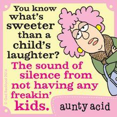 Aunty Acid Comic Strip, June 19, 2014 on GoComics.com