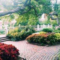 Prescott Park in Portsmouth, New Hampshire