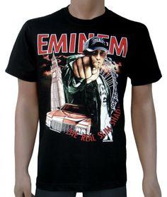76041abf5 33 best eminem images   Eminem, Band merch, Black t shirt