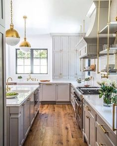 If the new year calls for a kitchen remodel, you'll want to take a look at our Pinterest account! This is the magic you'll find there. Click the link in our profile to be transported!  via Sam Real Group