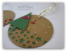 Christmas Tags by nwt2772 - Cards and Paper Crafts at Splitcoaststampers