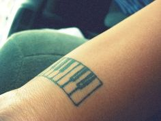 love design and placement, if only I played enough to earn this :( Dad Tattoos, Piano Keys, First Tattoo, Love Design, Tattoo Inspiration, Henna, Tatting, Body Art, Ink
