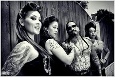40s Hair Style, Chicanas