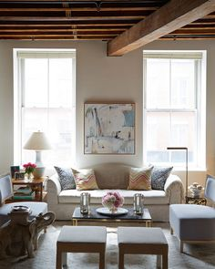 An Industrial Loft with a Trad Interior - Home Tour - Lonny