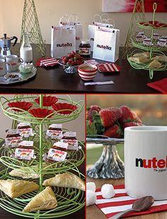 Look @Elizabeth Williams, a nutella party!