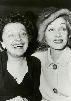 Édith Piaf & Marlene Dietrich