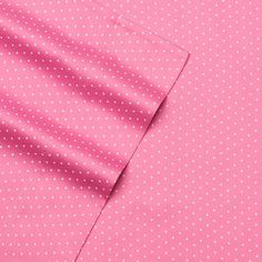 Alpine Dot 300 Thread Count Cotton Printed Sheet Set, Pink King
