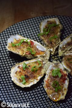 Oyster Recipes, Clams, Bon Appetit, Baked Potato, Entrees, Zucchini, Seafood, Good Food, Food And Drink