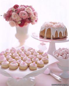 Rose Melting Moments - Martha Stewart Weddings