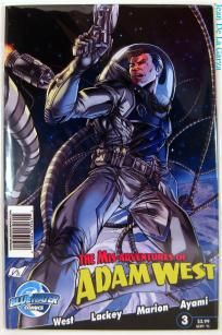 No Slice! Mis-Adventures of Adam West #3 Batman Bluewater Comics (2011) FREE Shipping + Spin2Win