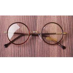 1920s Round oliver retro classic eyeglasses e233 Tiger skin frames kpop peoples