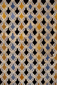 Fez, Morocco - Bou Inania Medersa Tile Work.  14th. Century A.D. Handmade tiles can be colour coordinated and customized re. shape, texture, pattern, etc. by ceramic design studios