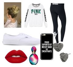 """Untitled #23"" by settermalia on Polyvore featuring Victoria's Secret, NIKE, Vans, Casetify, Betsey Johnson, Missoni and Lime Crime"