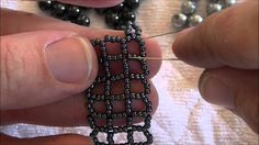 Kelly from Off the Beaded Path, in Forest City, North Carolina shows you how to make a 3 row right angle weave bracelet. This is the third video in her new t...