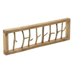 Wieszak Gałązki (299,00 zł) - sklep Planeta Design Wall Mounted Coat Rack, Wooden Hangers, Metal Finishes, Framing Materials, Wood Species, Types Of Wood, Wood And Metal, Outdoor Furniture, Outdoor Decor