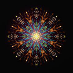élan intérieur ! inside momentum ! dentro impulso ! Mandala de Pierre Vermersch Digital Drawings