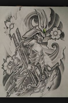 Image result for samurai tattoo designs