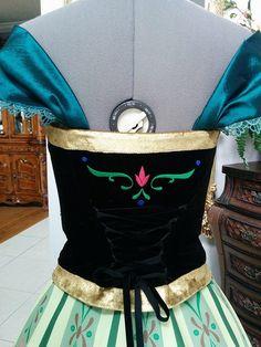 Corset from Anna Coronation Costume plus by PrestigeCouture