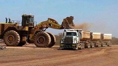 That's a big loader.